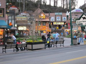 Gatlinburg Town Square